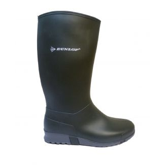 Dunlop Hevea Wellingtons Green/Grey