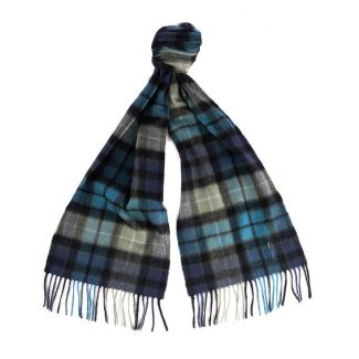 Barbour Ladies New Check Tartan Scarf