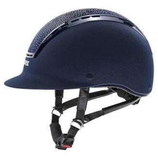 Uvex Suxxeed Flash Crystal Riding Helmet | Chelford Farm Supplies