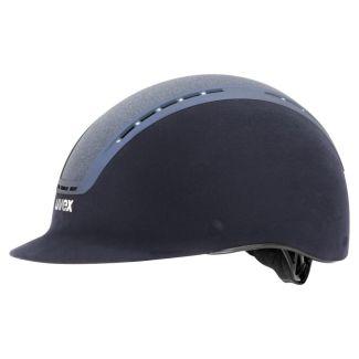 Uvex Suxxeed Glamour Riding Helmet Blue