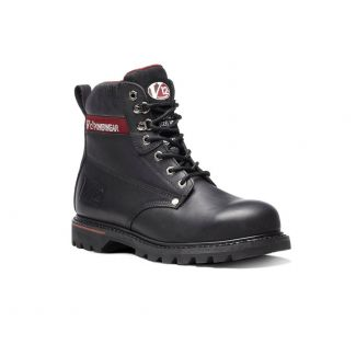 Boulder V1235XL Derby Boot Black