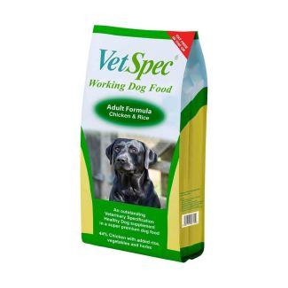 VetSpec Working Dog Adult Dog Food 15kg - Cheshire, UK
