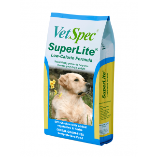 VetSpec Superlite Low Calorie Formula Dog Food - Cheshire, UK