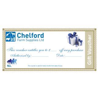 Chelford Farm Supplies Gift Voucher Redeem In Store Only
