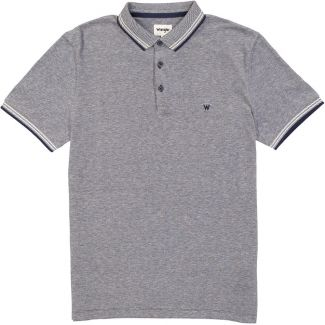 Wrangler Mens Short Sleeve Refined Polo Shirt