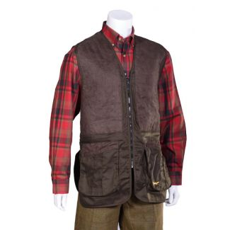Bonart Mens Walton Shooting Vest Green