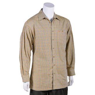 Bonart Mens Wantage Fleece Lined Shirt Gold
