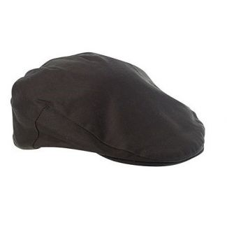 Failsworth Wax Flat Cap Olive