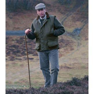 Hoggs of Fife Waxed Waistcoat