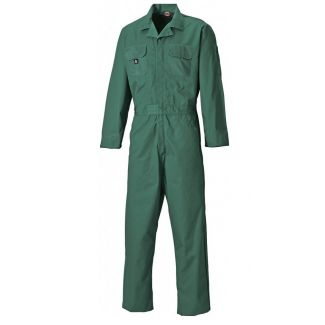 Dickies WD4829 Redhawk Boilersuit Stud Front Green