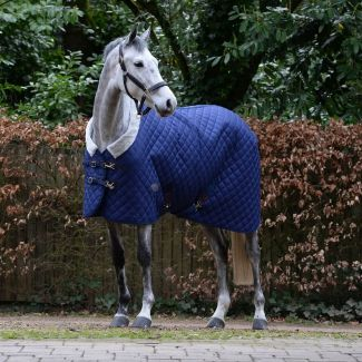 WeatherBeeta ComFiTec Deluxe Diamond Quilt Medium Stable Rug 250g Navy