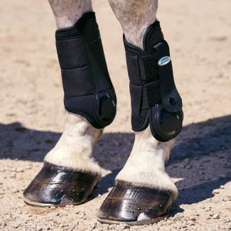 WeatherBeeta Flexi Shell Cross Country Boots Hind Black | Chelford Farm Supplies