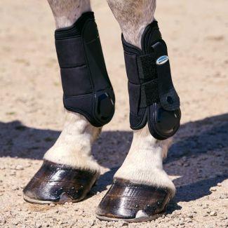 WeatherBeeta Flexi Shell Cross Country Front Boots Black | Chelford Farm Supplies