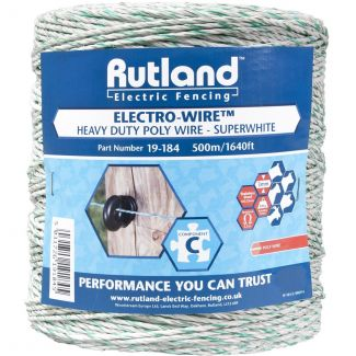 Rutland Super White Electro-Wire