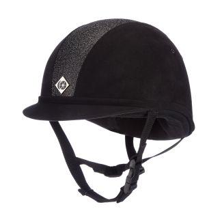 Charles Owen YR8 Sparkle Riding Hat Black