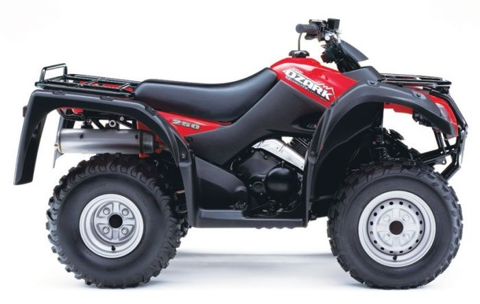 Suzuki Ozark 250 Quad Bike